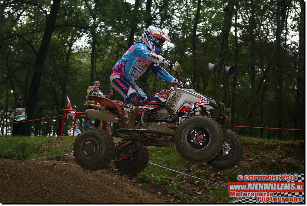 11 October 2014 - FIM Europe Markelo, NL Quadcross of European Nations